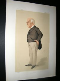 Vanity Fair Print 1876 J. M. Gulley, Doctor